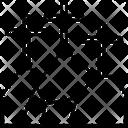 Golgotha Christian Cross Icon