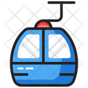 Ropeway Chair Lift Cable Transport Icon