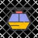 Gondola Ropeway Cabel Car Icon