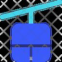 Gondola Cable Car Ski Lift Icon
