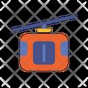 Gondola Ride Transport Boat Icon