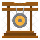 Gong Music Instruments Icon