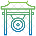 Gong Music Instruments Percussion Instrument Icon