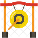 Gong Music Instrument Icon