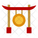 Gong Percussion Culture Icon