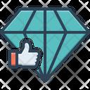 Good Like Diamond Icon