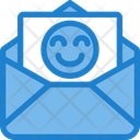 Good Good Content Good Mail Icon
