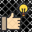 Good Idea Hand Icon