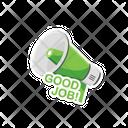 Sticker Work Good Icon