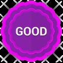 Good Label Sticker Icon