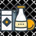 Goods Groceries Milk Icon