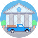 Goods Delivery Truck Icon