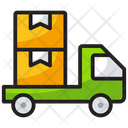 Delivery Truck Goods Delivery Van Logistics Icon