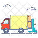 Goods Loading Container Loading Shipping Services Icon
