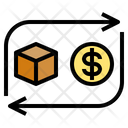 Coin Exchange Goods Icon