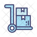 Goods Trolley Icon