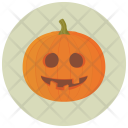 Goofy Carved Pumpkin Icon