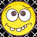 Goofy Emoji Goofy Expression Emotag Icon