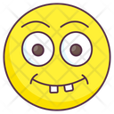 Goofy Emoticon Icon