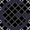 Google Alphabet Letter Icon