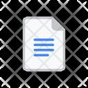 Google Docs White Icon
