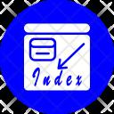 Google Index Checker Icon