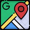 Google Map Gps Location Icon