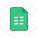 Google Sheet Icon