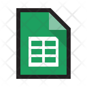 Google Sheet Spreadsheet Excel Icon