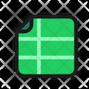 Google Sheet File Icon