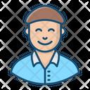 Gopnik Human Male Icon