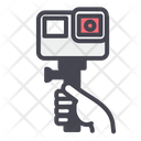 Gopro Camera Shooting Icon