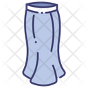 Gored Skirt Icon