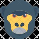 Baboon Macaque Monkey Icon