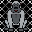 Gorilla Monkey Chimpanzee Icon