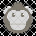 Gorilla Animal Primate Icon