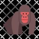 Gorilla Wildlife Animal Icon