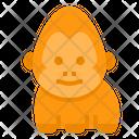 Gorilla Wild Wildlifemonkey Icon