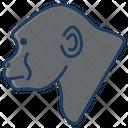 Gorilla Animal Zoo Icon