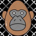 Gorilla Animal Icon