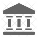 Government Museum Bank Icon
