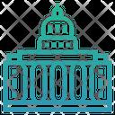 Government Market Economy Building Icon