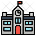 Building Government Official Icon Icon