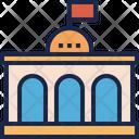Government Building Congress Icon