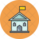 Government Office Building Icon