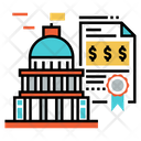 Government Bond Icon