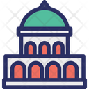 Building Capital Dome Icon
