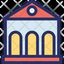 Architecture Building Court Icon