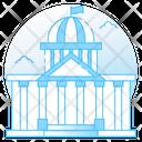 Court Architecture Government Building Legal Building Icon