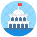 Governance Building Legal Building Icon